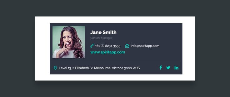 12+ Professional Email Signature Templates: With Unique Designs - https://codeholder.net/web-business/12-professional-email-signature-templates-unique-designs