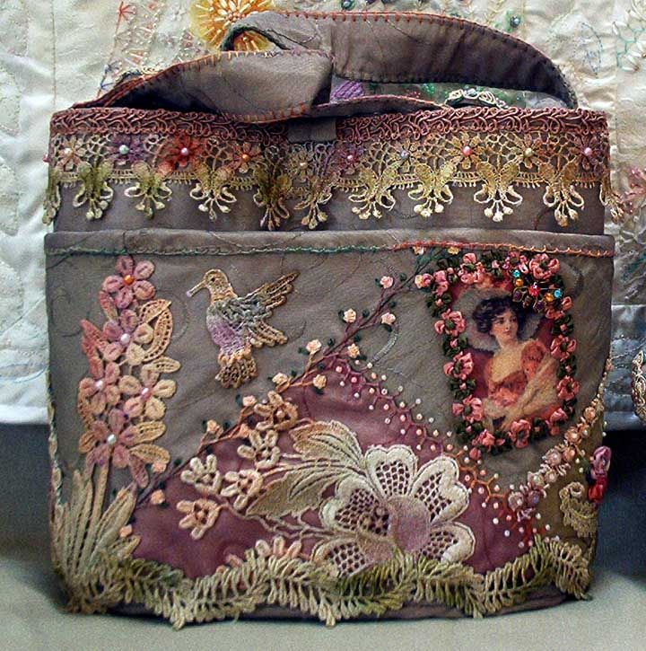 is this not the most beautiful piece of bag art you've seen?