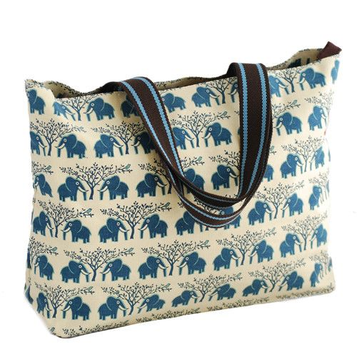 An awesome over shoulder bag that can carry all your daily necessities to the beach, shops or out to lunch. Phone and zipped pocket inside to keep things sorted. The bag is made of 100% Cotton canvas. GoodiesHub.com