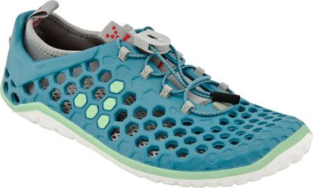 Introducing the VIVOBAREFOOT Ultra EVA Women, a light-weight barefoot amphibious running shoe. This women's running shoe is suitable for light trail cross training, water sports, long runs, or general beachside and urban barefoot exploration. http://zocko.it/LD2wl