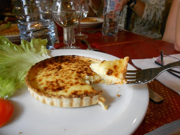 Real quiche in France