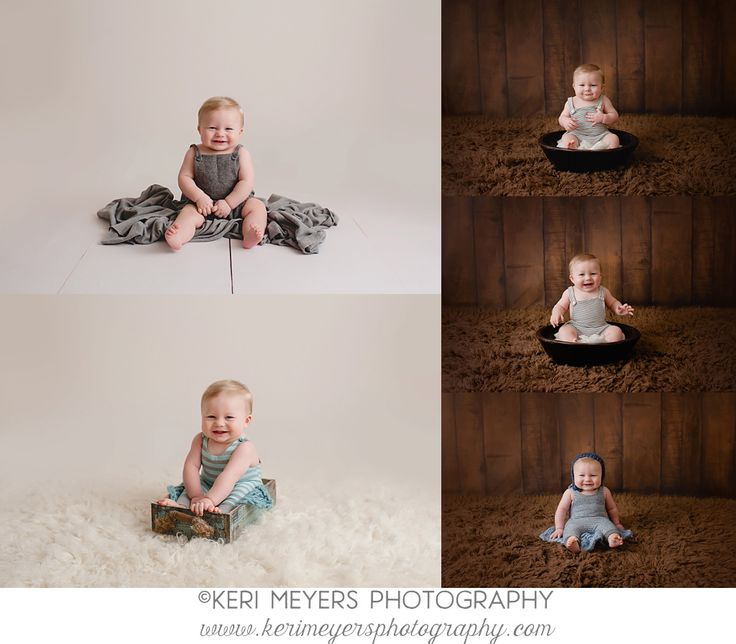 Phoenix baby photographer keri meyers now offers styled six month and one year portrait sessions