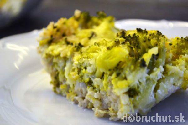 Fotorecept: Zapekané jačmenné krúpy s brokolicou