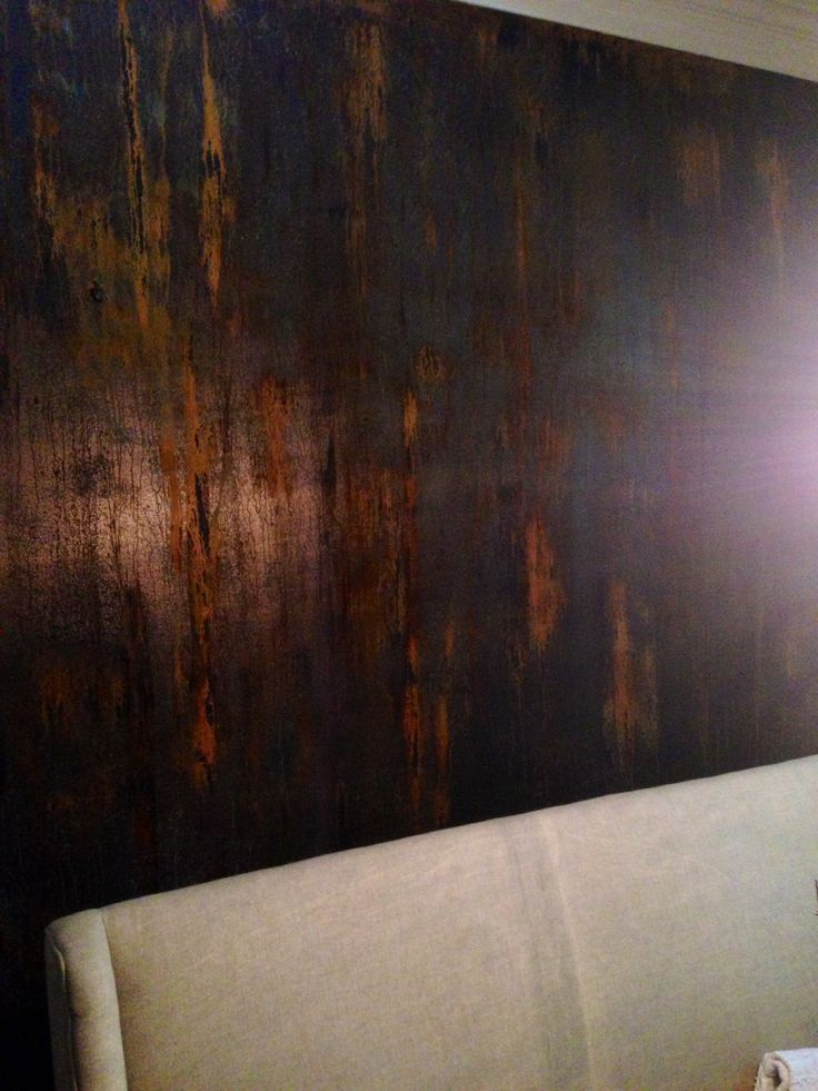 17 Best Images About Faux Rust Walls On Pinterest Wabi