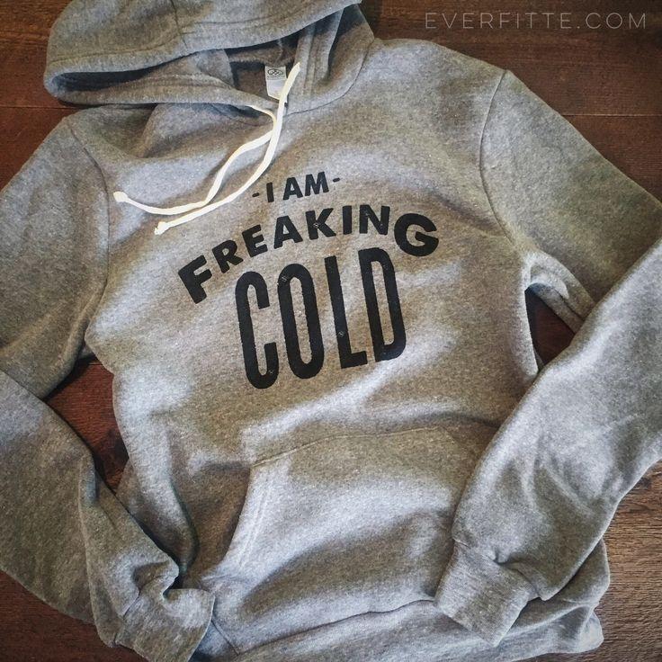 I'm Freaking COLD UNISEX Sweatshirt Grey / Black Wide-Neck, Men's Sweatshirt, Cozy Sweatshirt, Raglan Sleeve, Holiday, Christmas Gift by everfitte on Etsy https://www.etsy.com/listing/260192883/im-freaking-cold-unisex-sweatshirt-grey