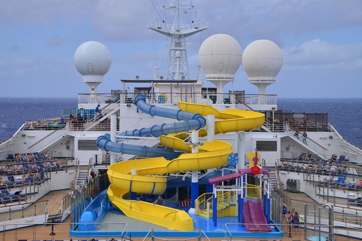 A new WaterWorks Park has been added to the Carnival Glory after weeks of renovation before, during and after its recent dry dock.