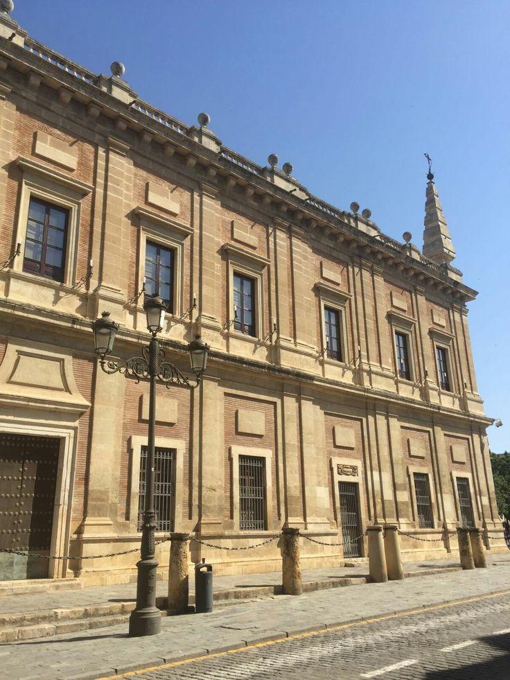 Portada Archivo General de Indias