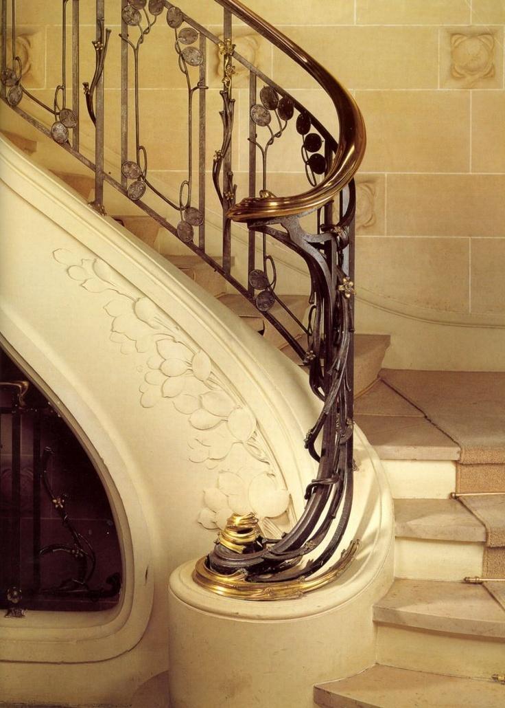 Les 25 meilleures id es de la cat gorie int rieur art for Art nouveau interieur