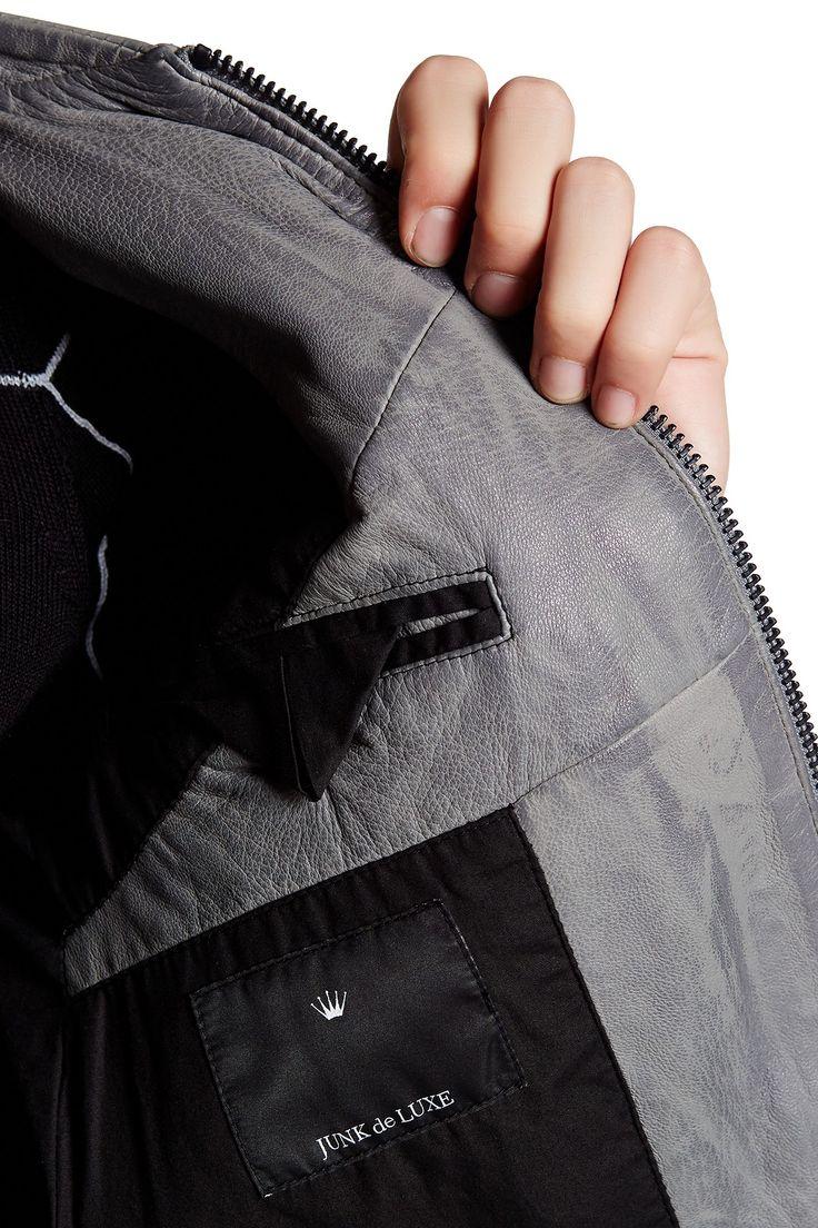 Genuine Leather Jacket by Junk de Luxe on @HauteLook