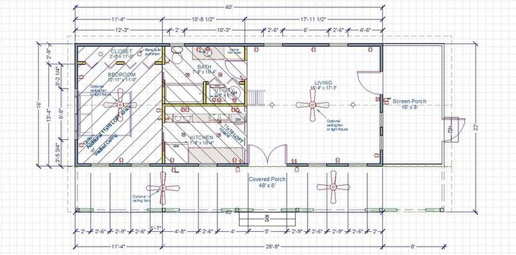 1000 images about tiny home cottages on pinterest house for 16x40 cabin floor plans
