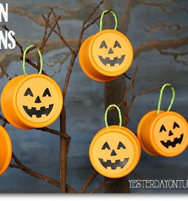 Halloween tin can Jack-O-Lantern pumpkin decor // Halloween tökös díszek konzervdobozokból egyszerűen // Mindy - craft tutorial collection // #crafts #DIY #craftTutorial #tutorial #HalloweenCrafts #Halloween #DIYHalloweenDecor #DIYHalloweenCostumes