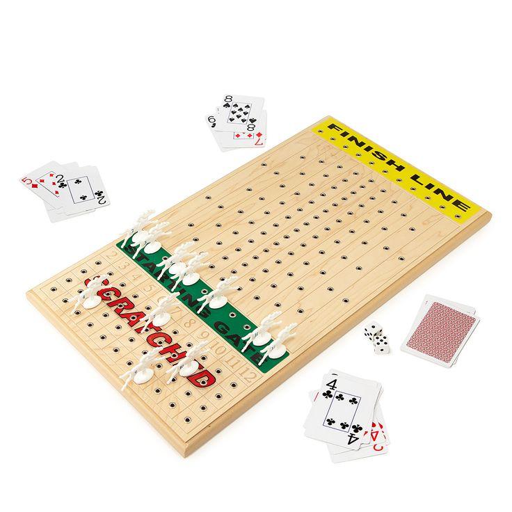 HORSE RACING GAME | Horse racing game, board game wood | UncommonGoods