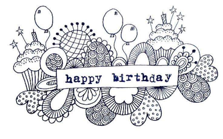 Happy Birthday Doodle | goggo                                                                                                                                                                                 More