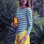 Blugirl collezione primavera estate 2014 maglia manica lunga a righe