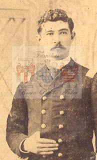 Alejandro Fuller Jofré (1855-?) Subteniente del Regimiento 2° de Línea. Participa en la Batalla de Topater, tarapacá, Los Ángeles, Tacna, Chorrillos y Miraflores.