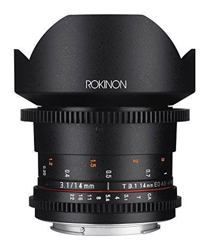78 best canon general lens images on pinterest lenses lentils and introducing rokinon cine ds ds14mc 14mm t31 ed as if umc full frame cine wide angle fandeluxe Gallery