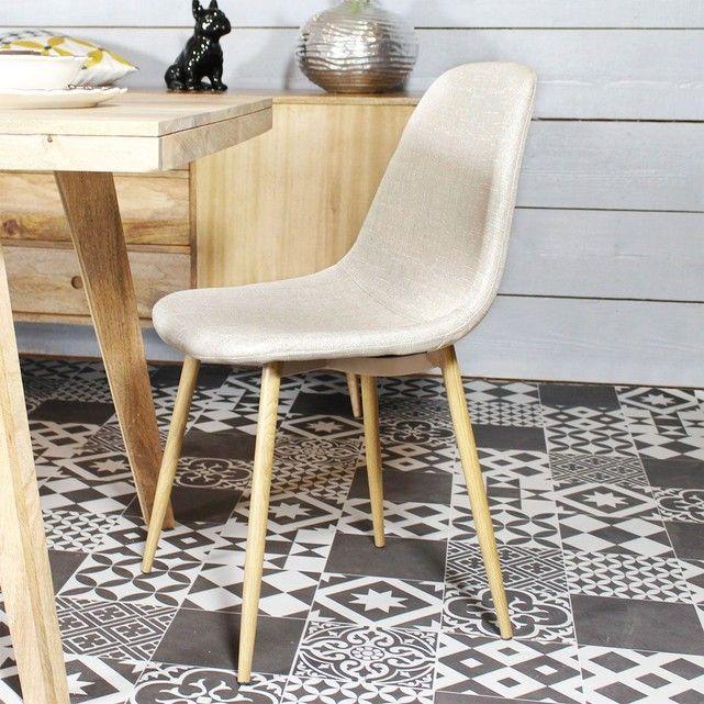 Cette chaise aux allures scandinaves va vous faire craquer. Dimensions (HxLxP) : 84 x 45 x 50 cm. Livraison Standard au pied de l'immeuble, sur créneau journalier (du lundi au vendredi, entre 08h et 18h).