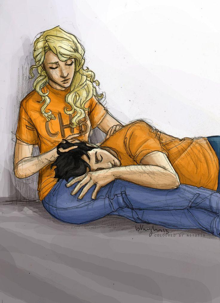 Awww the feels... Percabeth: don't be afraid anymore (burdge) by astutia.deviantart.com on @deviantART