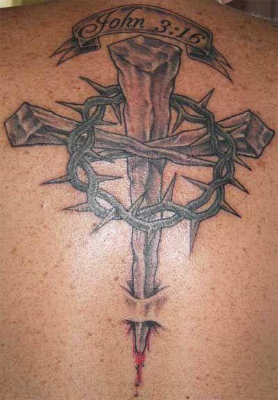 christian tattoos men religious