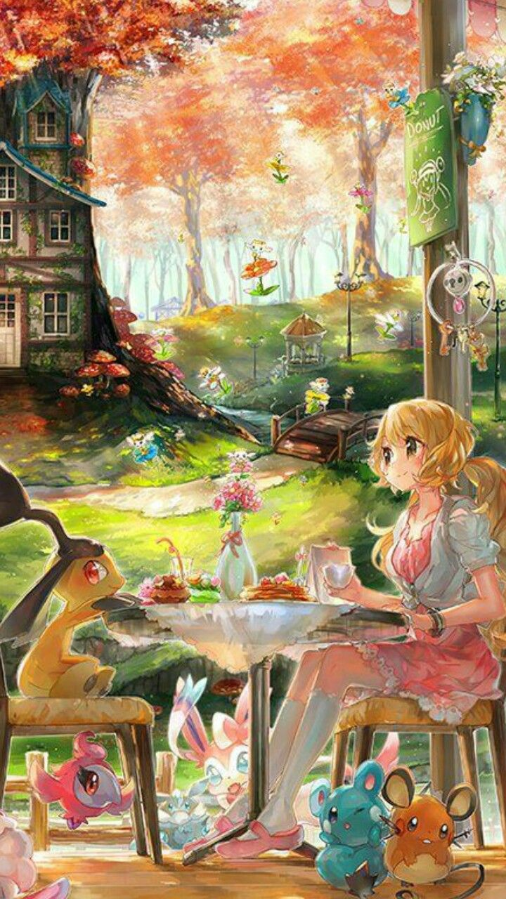 Pin by an on magic art pinterest anime magic art and drawings