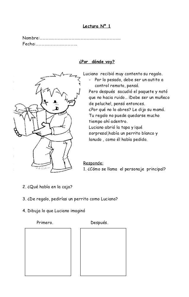 16835292 fichas-de-comprension-de-lectura by Luisa Adrina Jofre Molina via…