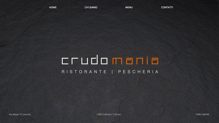 Crudomania - Desktop website