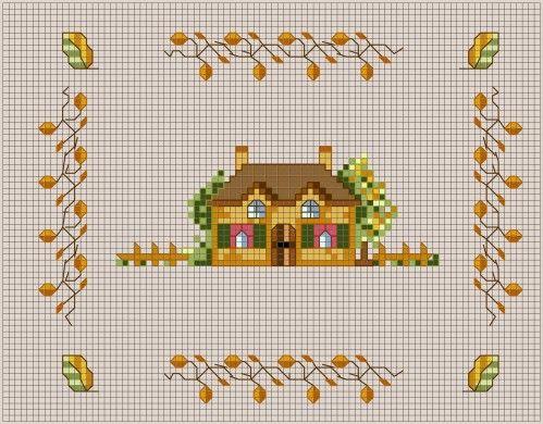 Les 92 meilleures images propos de maison house welcome - Maison point de croix ...