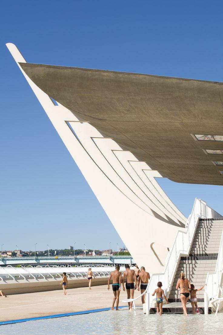 centre nautique Tony Bertrand, lyon © Romain Blanchi - expo archi20-21 au CAUE Rhône Métropole