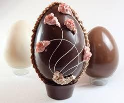 Resultado de imagen para como decorar huevos de pascua de chocolate