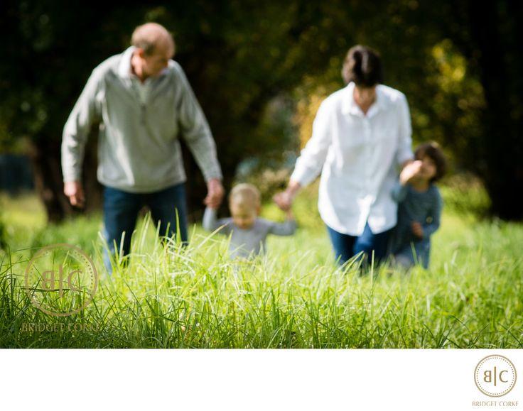 Bridget Corke Photography - Grandparents and Grandchildren in Delta Park:
