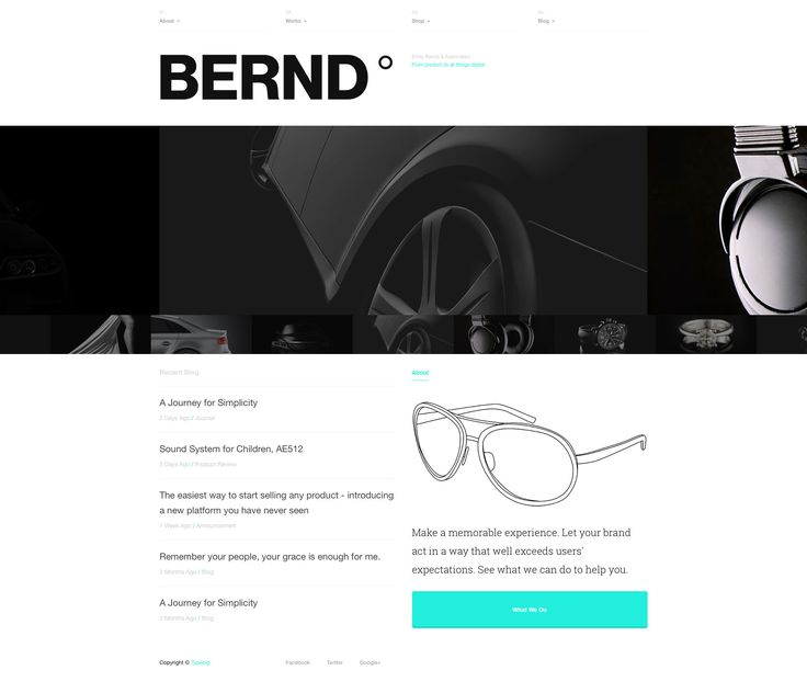 Typefolio is a minimalist, clean HTML5 portfolio template specifically designed for designers, design studios. It is a free responsive HTML5 portfolio website template which allows you to showcase your design portfolio. This website template is  uses HTML5 and CSS3 web technologies, fully responsive and built with Custom-built Responsive CSS Grid System.