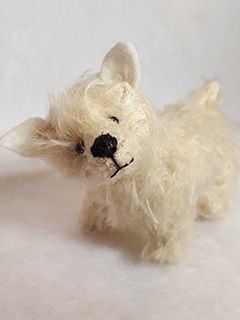 Scruffy by Peggy Fleming.  Made for the Once Upon a Needle online gallery show, November 2015.