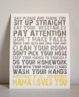 Mama loves you!: Idea, Love You, Quotes, Child Rooms, Boys Rooms, Nurseries Decoration, House Rules, Families Rules, Kids Rooms