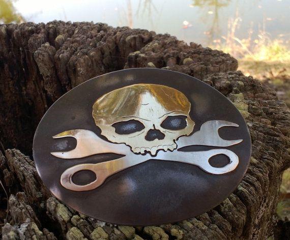 Harley Davidson Belts Skulls