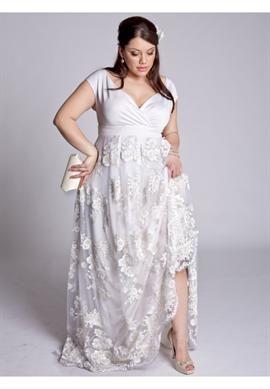 Eugenia Vintage Wedding Gown | Plus Size IGIGI by Yuliya Raquel | OneStopPlus