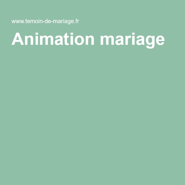 animation mariage - Ide Chanson Personnalise Mariage