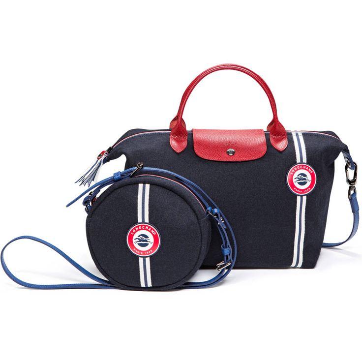 sac Le Pliage Cocarde, Longchamp aux couleurs de l'équipe de France de football