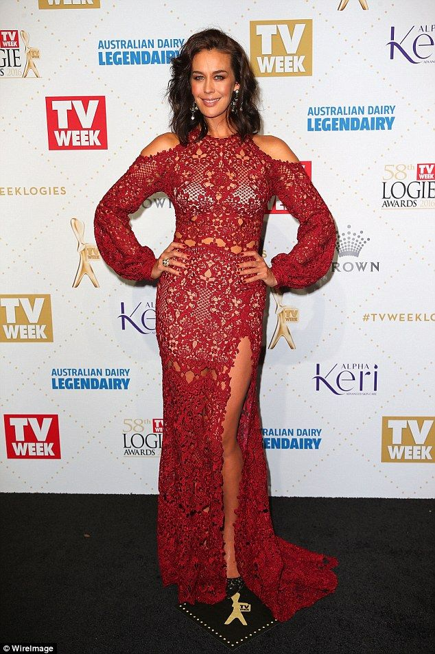 Model on the move: Megan Gale has privately sold her luxury $2.3 million dollar Melbourne waterfront mansion for a profit