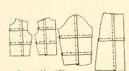 patroon versmallen Patroonveranderen Is het patroon te groot dan legt u vouwen in het papier Bijv. is het lijfje te lang dan leg je 2 horizontale vouwen dwars over het patroon De ene vanaf het midden van het armsgat, de ander vanaf het midden van de zijnaad Is het patroon te breed dan leg je vertikale vouwen Hetzelfde doe je met de mouw