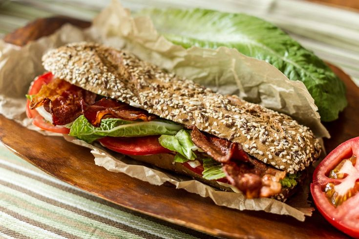 Not your standard BLT sandwich! Crispiness combined with chewiness ! Try it and love it! #sandwich #breakfast #snack #recipeoftheday #akispetretzikis
