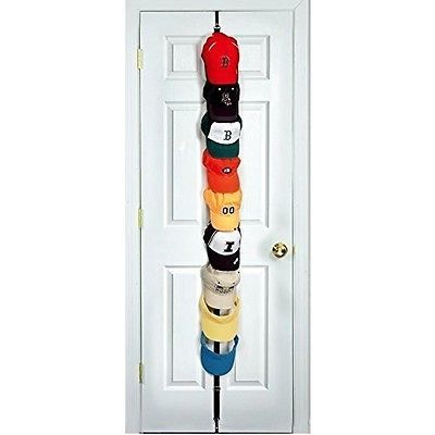 #Baseball cap rack hat organizer hook #display door room hang #caprack holder wal,  View more on the LINK: http://www.zeppy.io/product/gb/2/322295158138/
