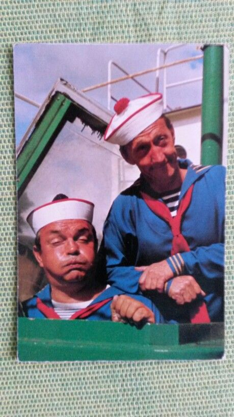 Peppi & kokki matroos op de boot