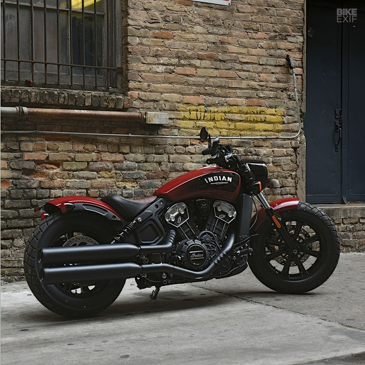 First look: Indian Motorcycle has just joined Triumph and Moto Guzzi in the factory bobber game. Here's a first look at the cool new 100 horsepower Scout Bobber, launched today. It'll go on sale in September and US prices will start at $11,499. Hit the link to see a full photo gallery on our Facebook page.