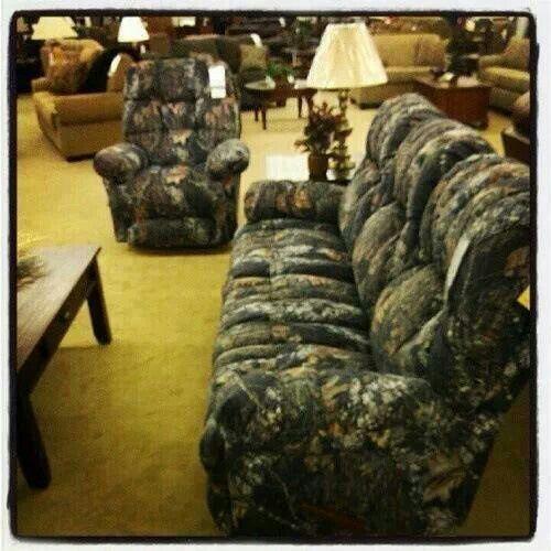 Camoflauge Couch And Recliner · Camo FurnitureMan Cave FurnitureFurniture  SetsLiving Room ... Part 95