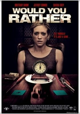 Would You Rather (2012) movie #poster, #tshirt, #mousepad, #movieposters2