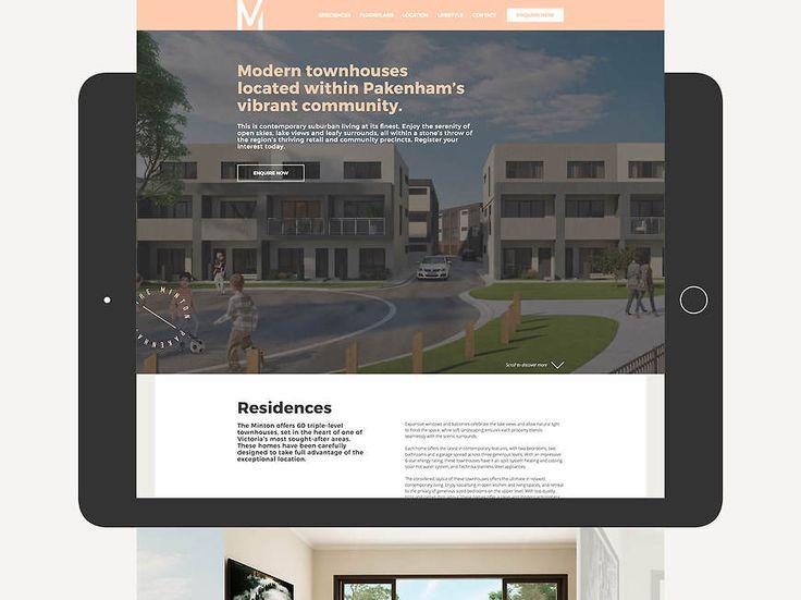 The Minton, Pakenham - Website Design by Small & Co
