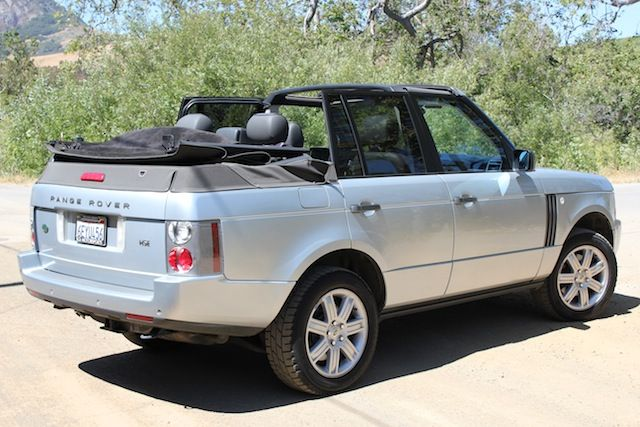 2007 Range Rover HSE Convertible - Land Rover Forums : Land Rover and Range Rover Forum