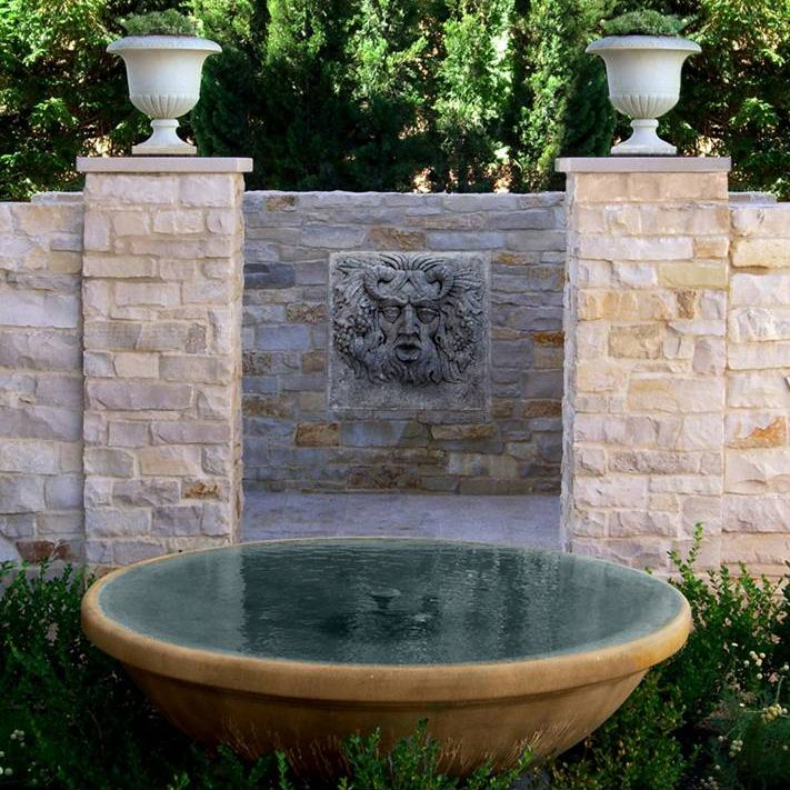 Water Gardens And Features: Fountains & Ponds Images On Pinterest