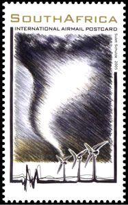 Stamp: Wind (South Africa) (Renewable Energies) Mi:ZA 1671