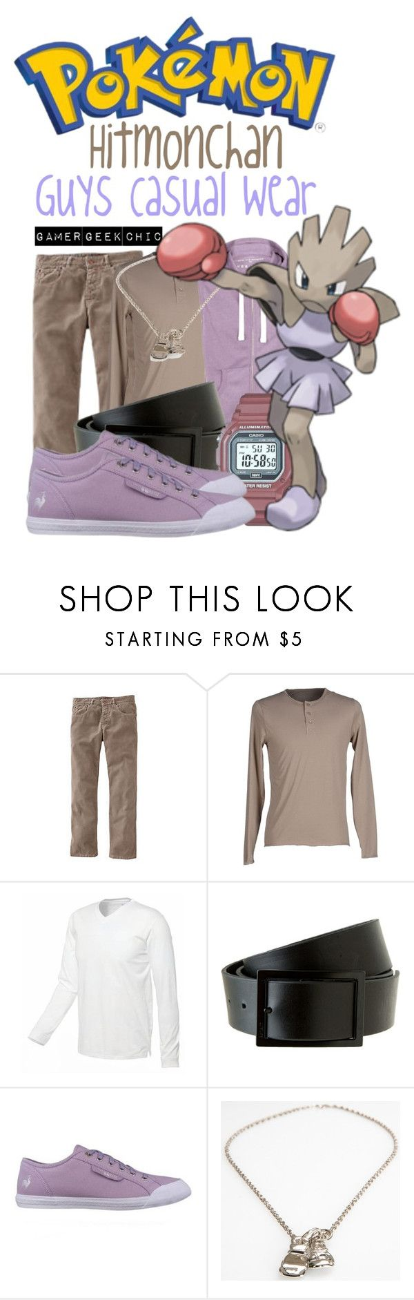 """Pokémon - Hitmonchan"" by gamer-geek-chic ❤ liked on Polyvore featuring Boden, Alpha Studio and Le Coq Sportif"